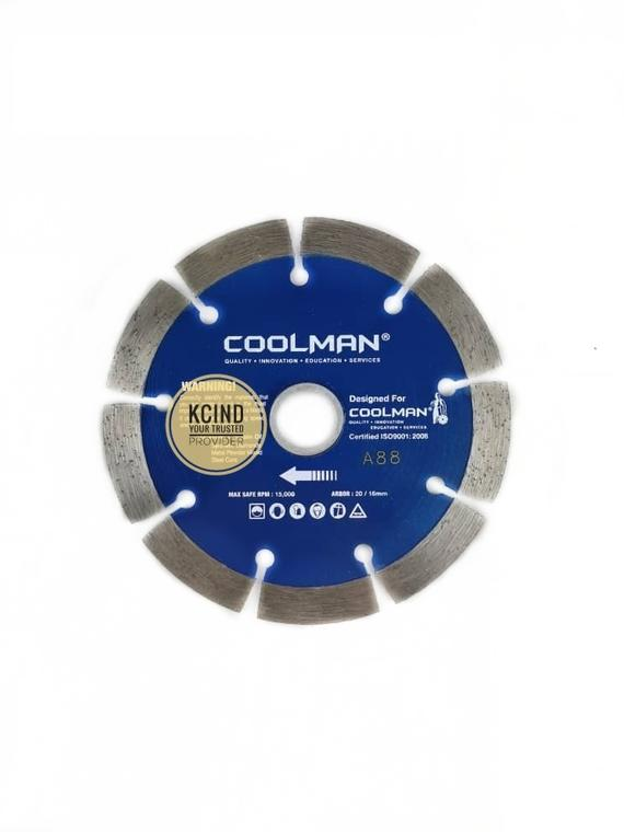 "Coolman A88 4"" (100mm) Dry Cutting Blade"