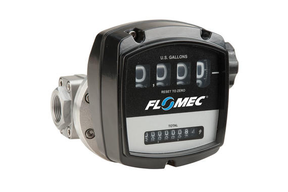 FLOMEC oval gear mechanical meters (OM Series)