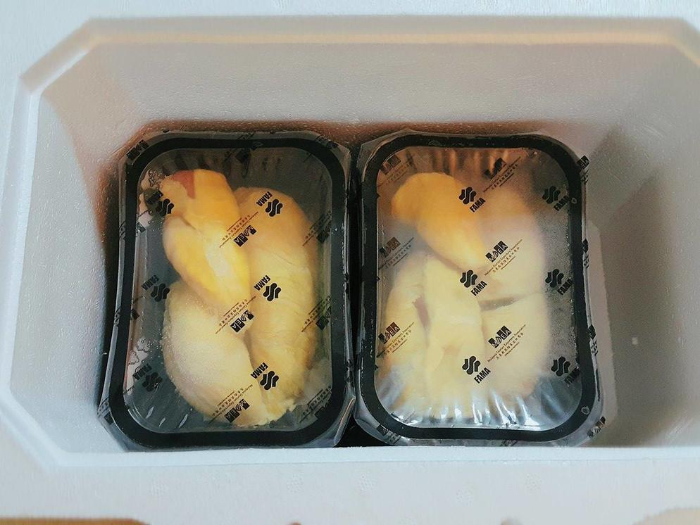 Durian Vacuum Pack Flesh for Export