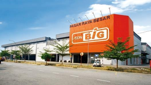 Aeon Big Non Halal Counter