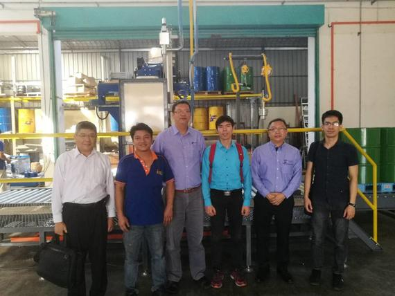 Factory visit by Vietnam Customer