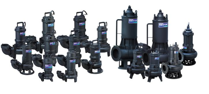 AF Series- SUBMERSIBLE SEWAGE/ WASTE PUMPS