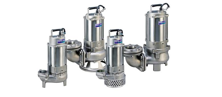 SF/SA Series - SUBMERSIBLE STAINLESS STEEL PUMPS