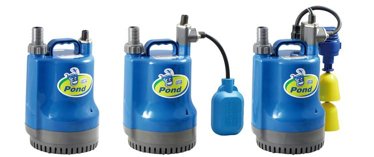 POND Series - SUBMERSIBLE SUMP PUMPS