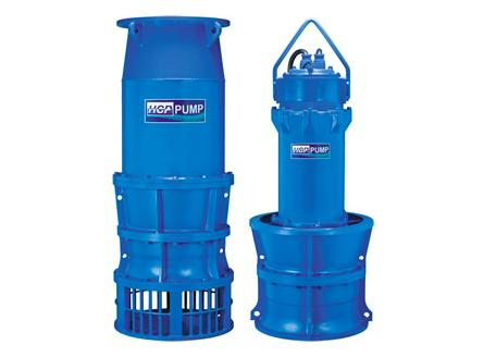 LA Series - SUBMERSIBLE AXIAL FLOW PUMPS