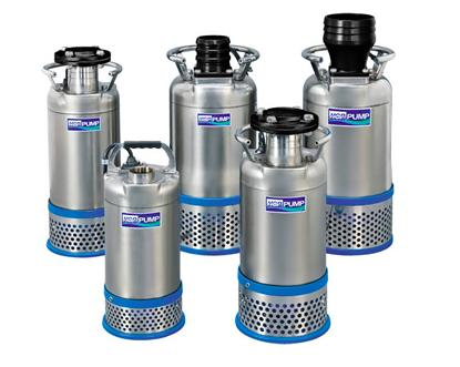 AS Series - SUBMERSIBLE DEWATERING PUMPS