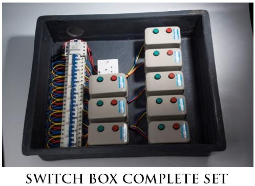 Switch Box complete Set