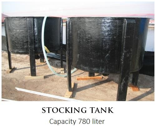 Fibre Stocking Tank