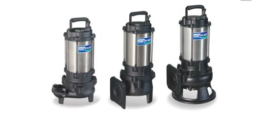 F/FN Series- SUBMERSIBLE SEWAGE / EFFLUENT PUMPS