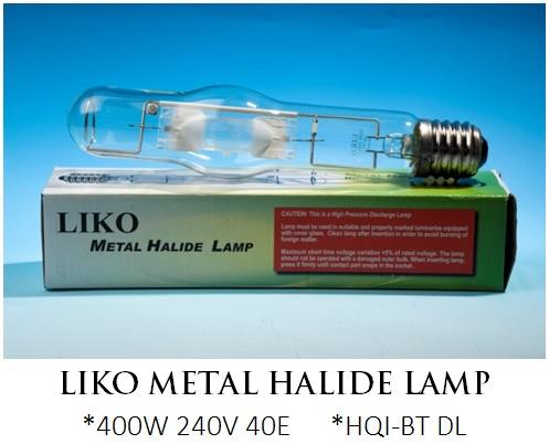 LIKO Metal Halide Lamp
