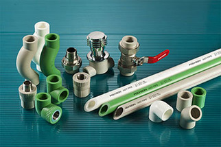 Polygon PP-R pipe fitting