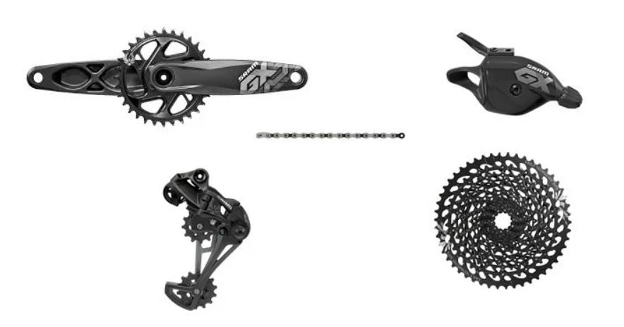SRAM GX EAGLE GROUPSET [1x12], DUB, 170MM