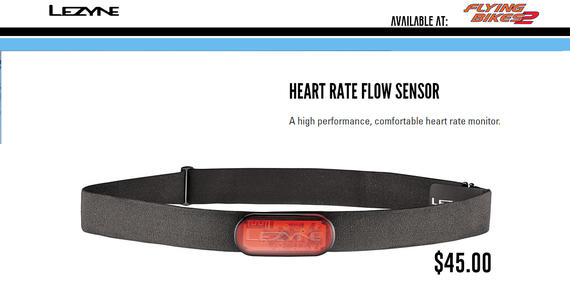 Lezyne Heart Rate Flow Sensor