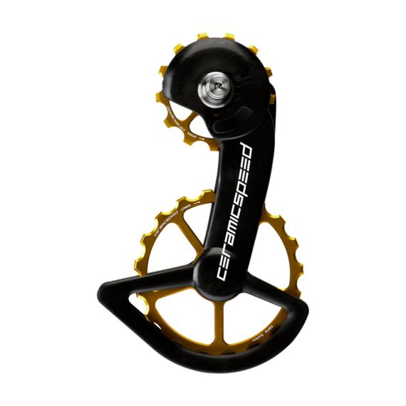 CeramicSpeed OSPW alloy Shimano 9100 series Gold