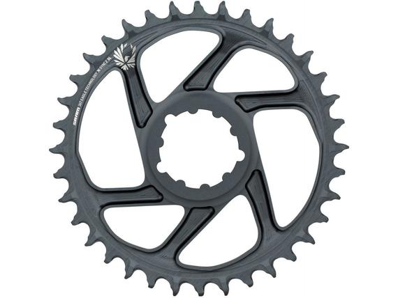 SRAM CHAIN RING X-SYNC 2 SL 34T DIRECT MOUNT 6MM OFFSET EAGLE LUNAR GREY