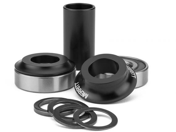MERRITT MID BOTTOM BRACKET KIT BLACK
