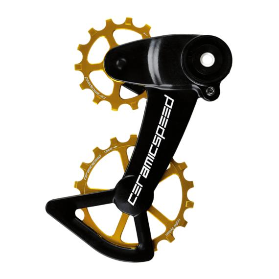 CeramicSpeed OSPWX SRAM Alternative Eagle AXS gold