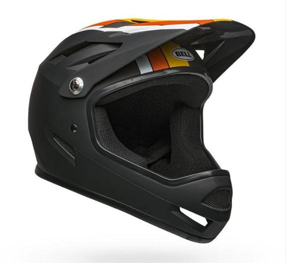 SANCTION AGILITY MATTE BLACK-YELLOW-ORANGE
