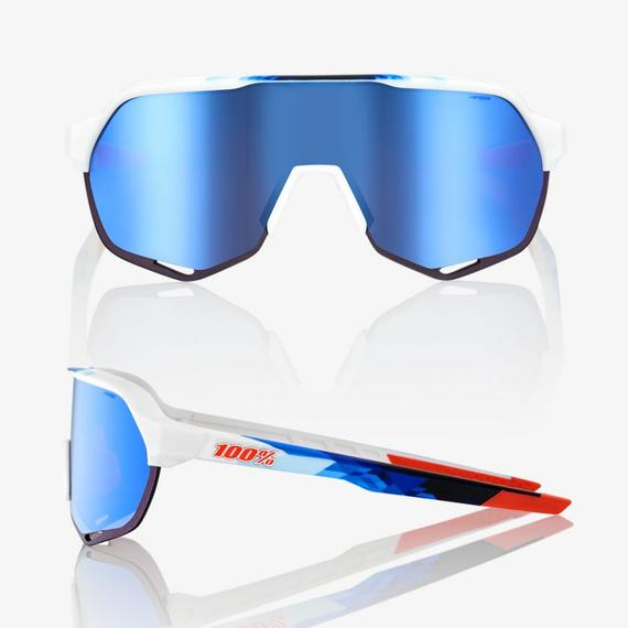 S2 Matte White HiPER® Blue Multilayer Mirror Lens