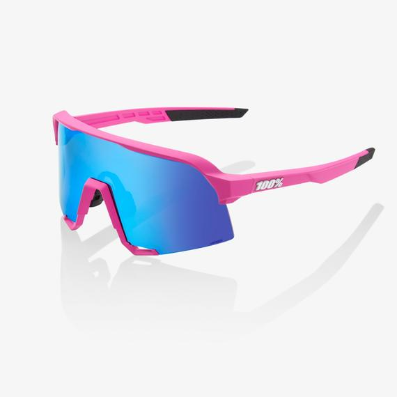 S3 Matte Pink HiPER® Blue Multilayer Mirror Lens