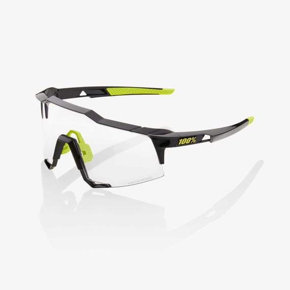 SPEEDCRAFT Gloss Black Photochromic Lens