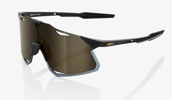 HYPERCRAFT - Matte Black – Soft Gold Mirror Lens