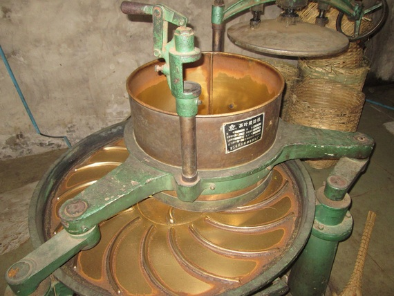 Mechanical sorter of tea quality