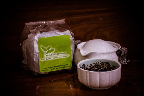 Xieng Khoung Green Tea (Tai Phuan Grown Tea)