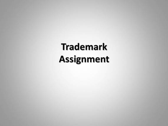 """trademark assignment 2005] trademark assignment """"with goodwill"""": a concept whose time has gone 773 1 section 45 of the trademark act of 1946 (lanham act), pub l no 79 489, 60 stat 427."""