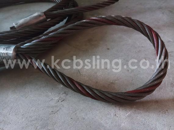 Wire Rope Sling Both End & Soft Eye.