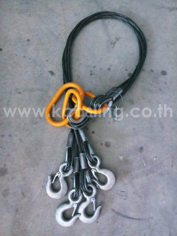 4 Legs Wire Rope Sling Dia 13MM