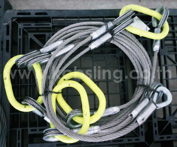 5Legs - Stainless Wire Rope Sling.