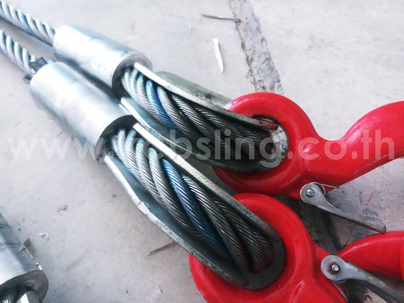 4-Legs Wire Rope Sling Dia 1""