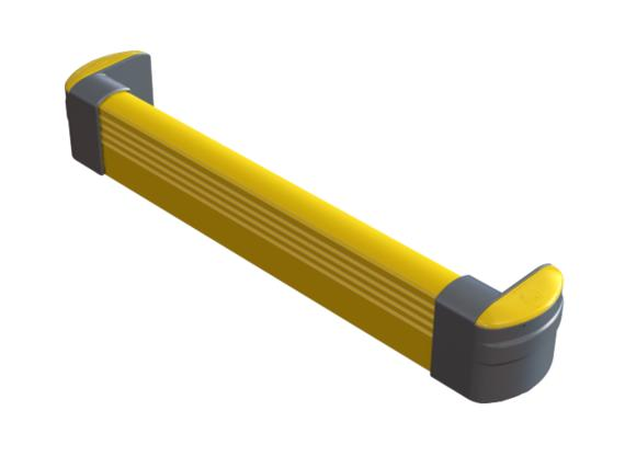 CRASH BARRIER : FLOOR FRAME BARRIER