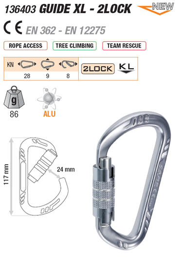 GUIDE XL - LOCK