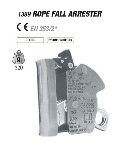 ROPE FALL ARRESTER