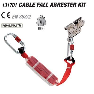 CABLE FALL ARRESTER KIT