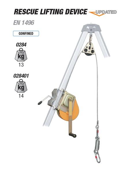 RESCUE LIFTING DEVICE