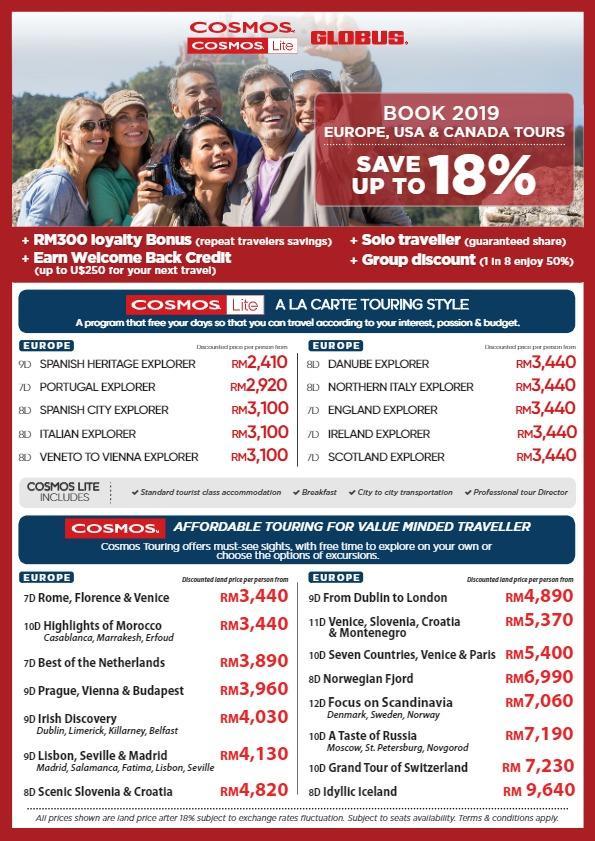 E-Catalogs - SASMalaysia Tours & Travel