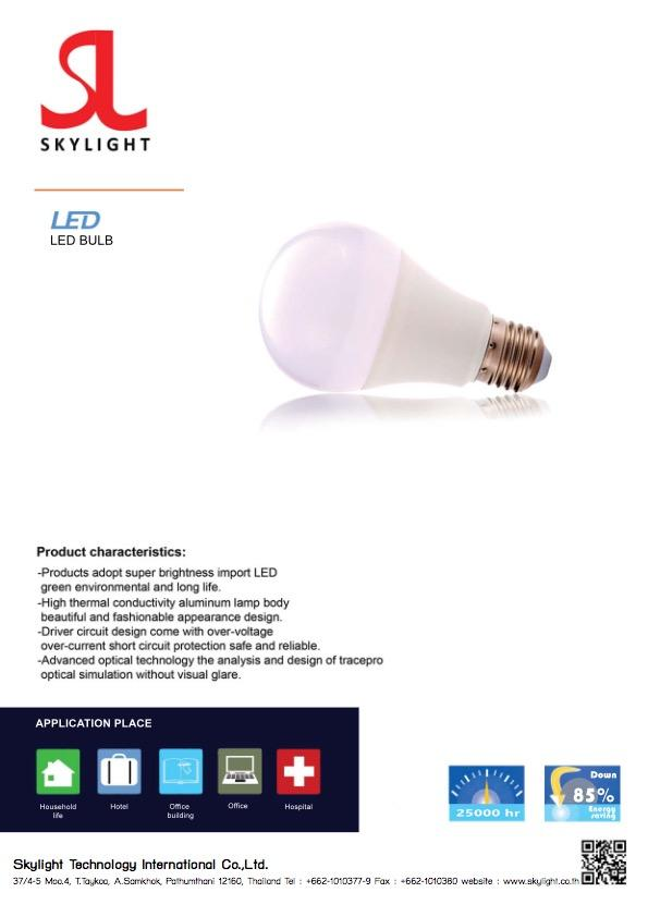 Led Lighting Product Bulb