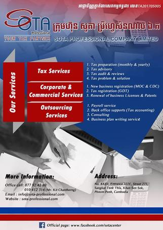 Sota Professional Company Limited - Training Programs in