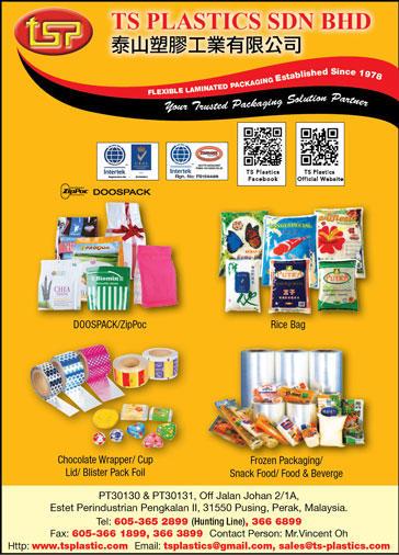TS Plastics Sdn  Bhd  - Packaging Products in Perak