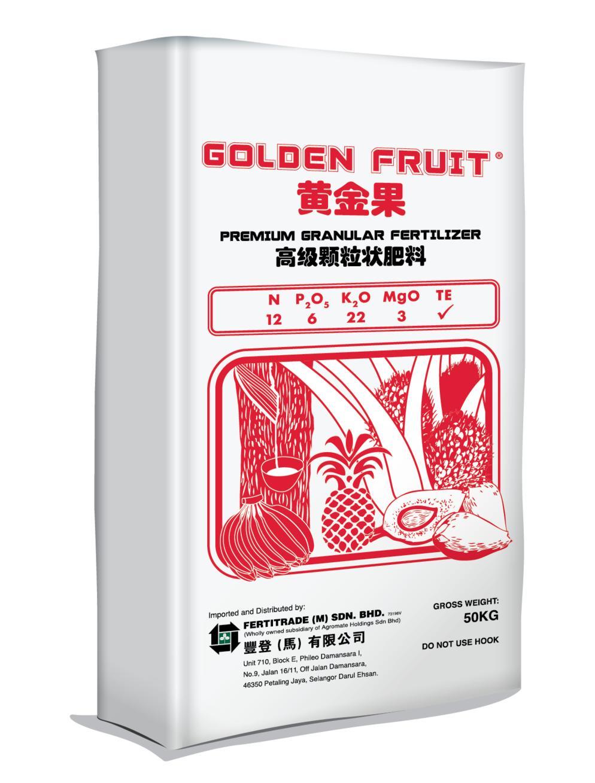 Golden Fruit Red 12/6/22/3+TE - Fertilisers - Fertitrade (M