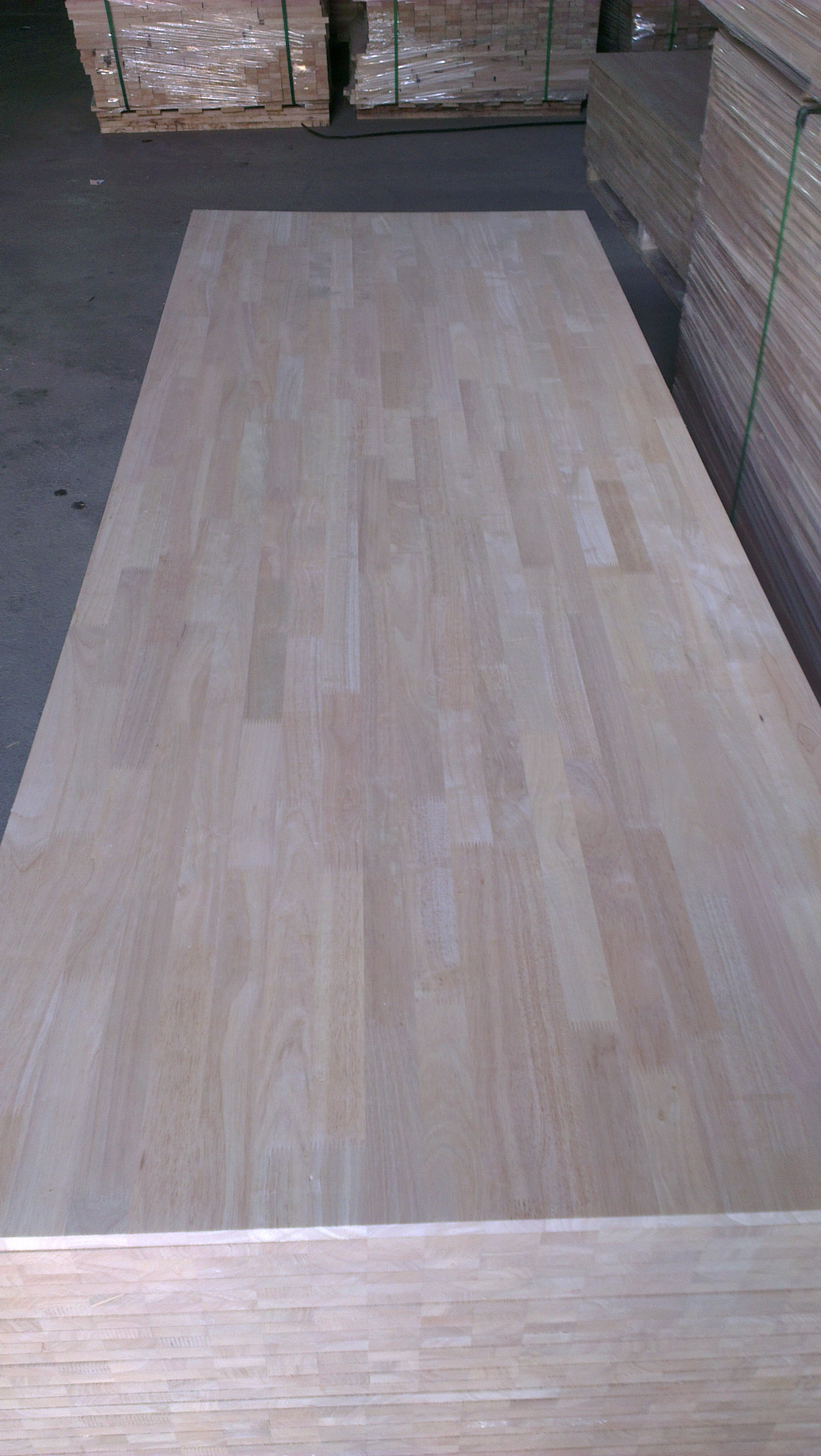 Rubber Wood Finger Joint Laminated Board Rubber Wood