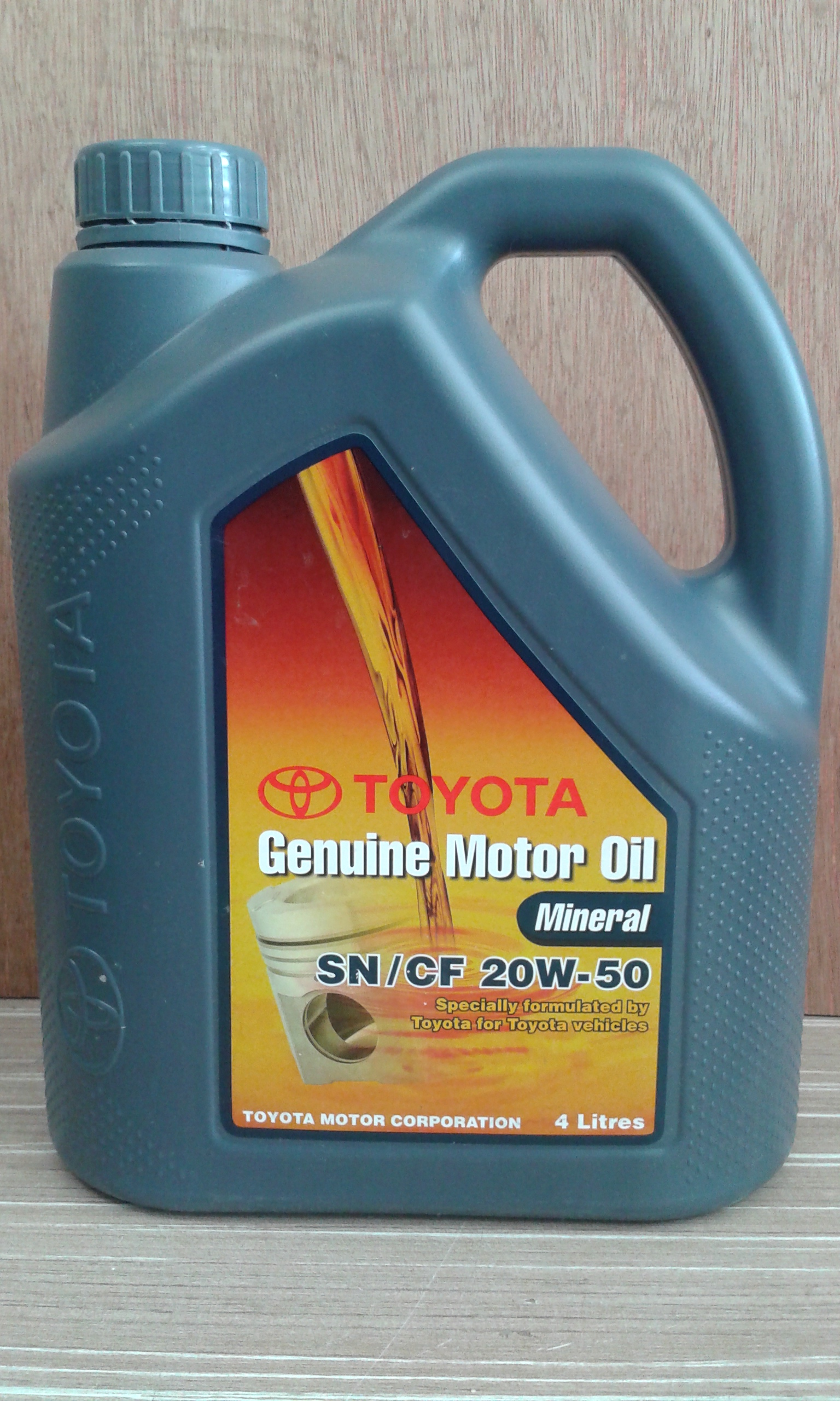 Toyota Mineral 20w50 Engine Oil On St Auto Spares Sdn
