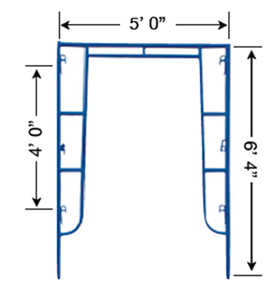 Frame Scaffold Aluminium Scaffold Sk Beh Scaffolding