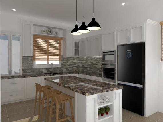 Kitchen Kedah Kitchen Cabinet Interior Design Renovation Decoration